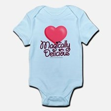 Magically Delicious Hearts Infant Bodysuit