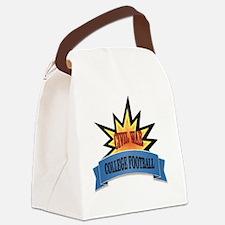 Cute Sports tags Canvas Lunch Bag
