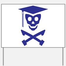 Grad Class Skully Yard Sign
