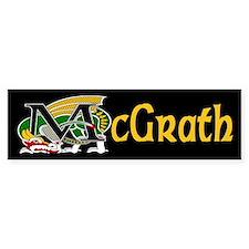 McGrath Celtic Dragon Bumper Bumper Sticker