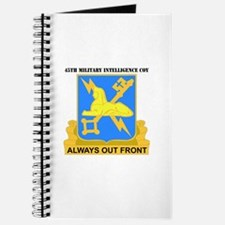 DUI - 45th Military Intelligence Coy with Text Jou
