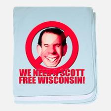 We Need a Scott Free Wis baby blanket