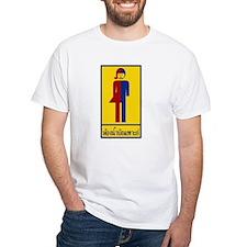 Ladyboy / Tomboy Toilet Thai Sign Shirt