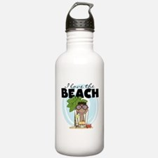AA Boy Love the Beach Water Bottle