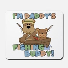 Bears Daddy's Fishing Buddy Mousepad