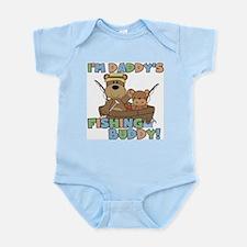 Bears Daddy's Fishing Buddy Infant Bodysuit