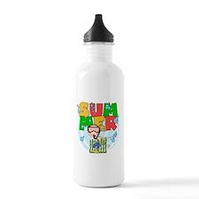 Boy Snorkeling Summer Water Bottle