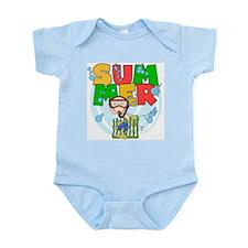 Boy Snorkeling Summer Infant Bodysuit