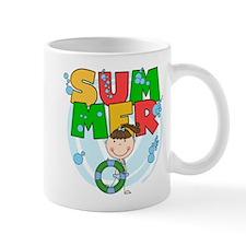 Brunette Girl SUMMER Mug