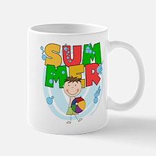 Brunette Boy SUMMER Mug