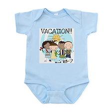 Stick Kids Vacation Infant Bodysuit