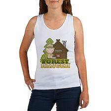 Male Forest Ranger Women's Tank Top