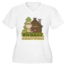 Male Forest Ranger T-Shirt