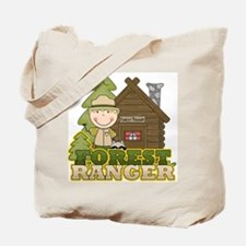 Male Forest Ranger Tote Bag