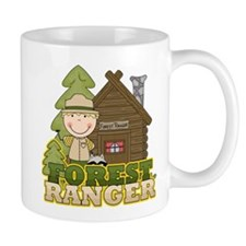 Male Forest Ranger Mug