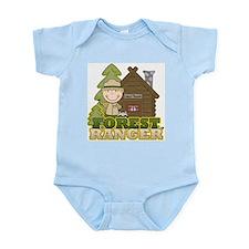 Male Forest Ranger Infant Bodysuit