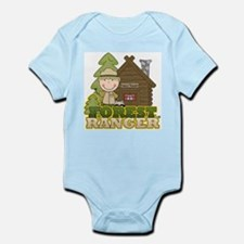 Male Forest Ranger Infant Bodysuit