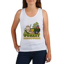 Female Forest Ranger Women's Tank Top