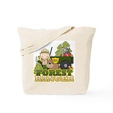 Female Forest Ranger Tote Bag