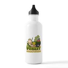 Female Forest Ranger Water Bottle