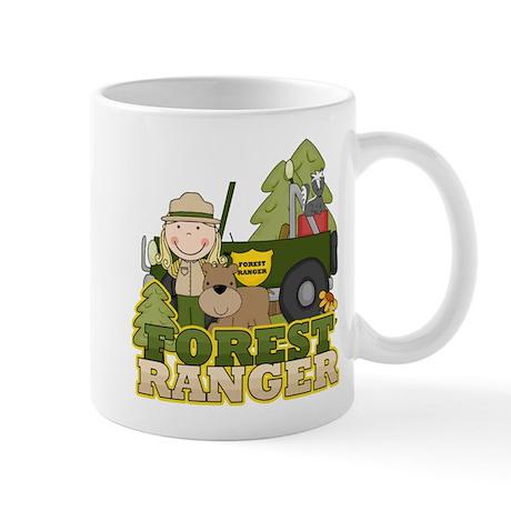 Female Forest Ranger Mug