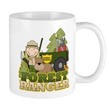 Female Forest Ranger Mug