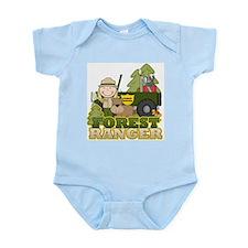 Female Forest Ranger Infant Bodysuit