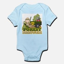 Female Forest Ranger Infant Bodysuit