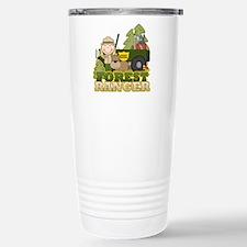 Female Forest Ranger Travel Mug