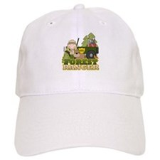 Female Forest Ranger Baseball Cap