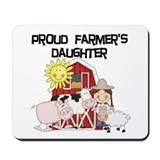 Farmers daughter Mouse Pads
