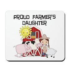Proud Farmer's Daughter Mousepad