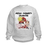 Farm girl farmers daughter Crew Neck