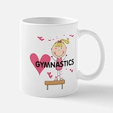 Blond Girl Gymnast Mug