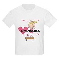 Blond Girl Gymnast T-Shirt