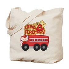 Little Fireman Tote Bag