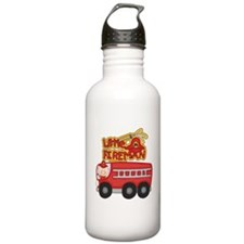 Little Fireman Water Bottle