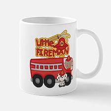 Little Fireman African American Mug