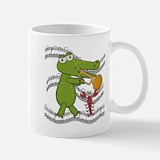Crocodile With Trumpet Mug