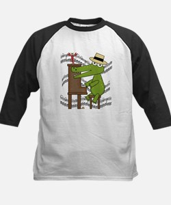 Crocodile at Piano Tee