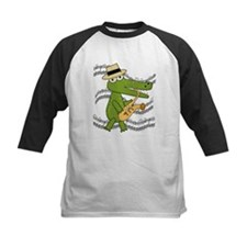 Crocodile With Saxophone Tee