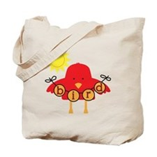 Cartoon Bird Tote Bag