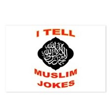 ISFUNISLAM Postcards (Package of 8)