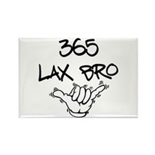 365 Lax Bro Rectangle Magnet