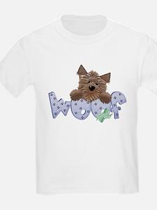 Blue Woof Kids T-Shirt