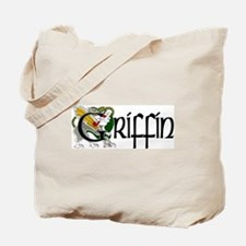 Griffin Celtic Dragon Tote Bag