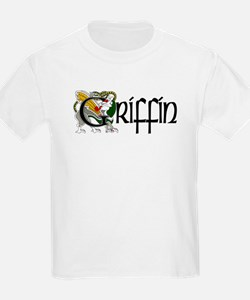 Griffin Celtic Dragon Kids T-Shirt