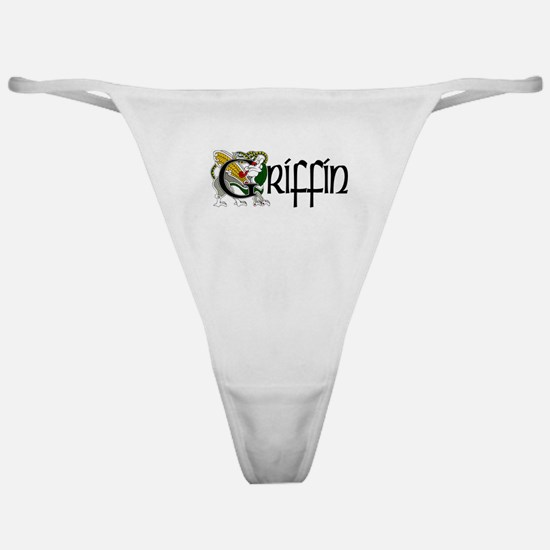 Griffin Celtic Dragon Classic Thong