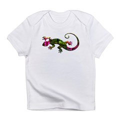 Green Purple Gecko Infant T-Shirt