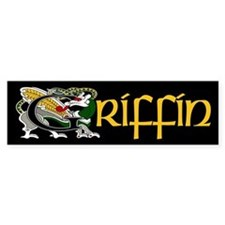 Griffin Celtic Dragon Bumper Bumper Sticker